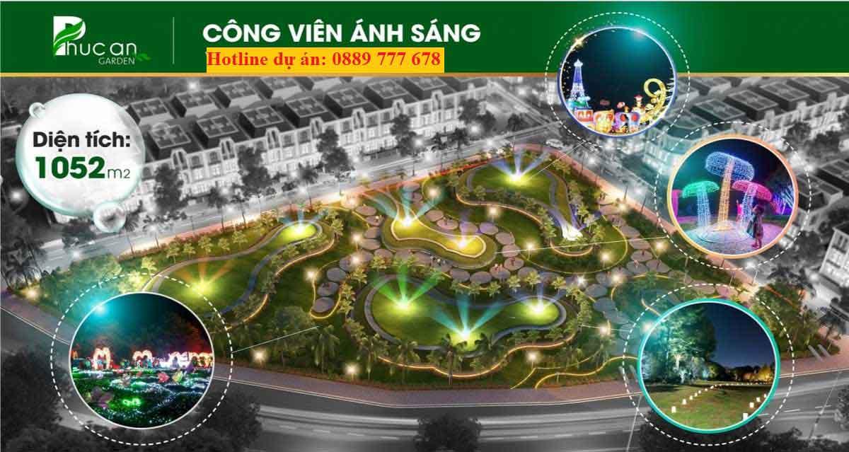 Công viên Ánh Sáng phúc an garden