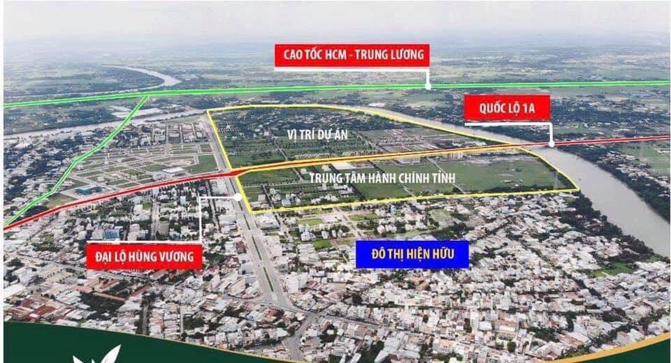 Vị trí vô cùng đắc địa của dự án Lavilla Green City.