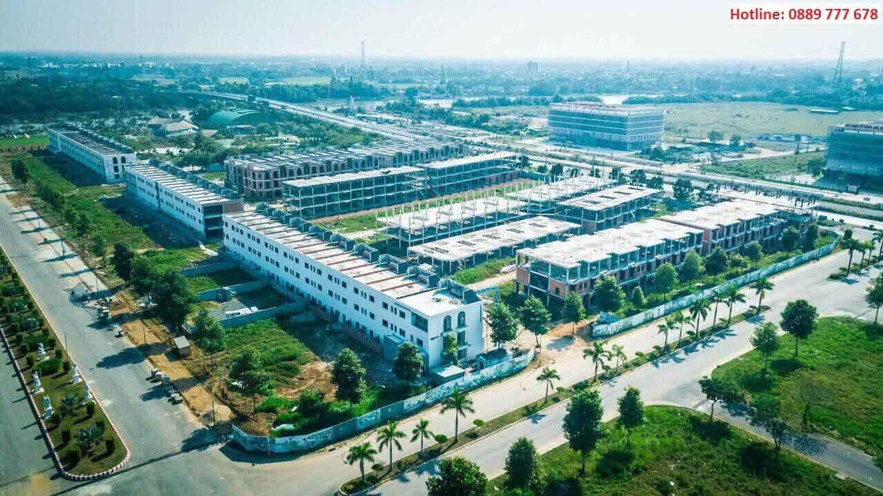 Hình ảnh thực tế dự án Lavilla Green City