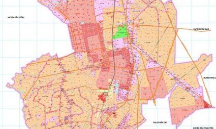 quy hoạch huyện Bàu Bàng